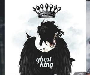 nico di angelo, percy jackson, and ghost king image