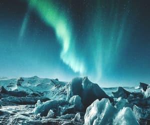 aurora boreal, belleza, and invierno image