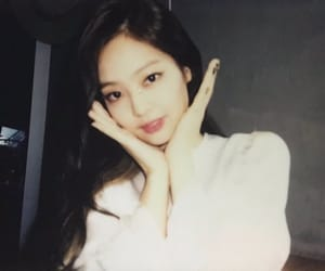 polaroid, jennie, and blackpink image