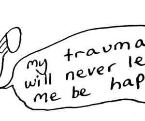 depression, illustration, and mental illness image