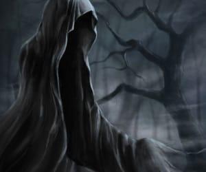 darkart, death, and gothic image