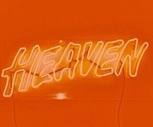 orange, aesthetic, and heaven image