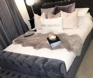 bedroom, bedroom decor, and girly image