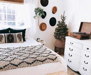 bedroom, bedroom decor, and boho image