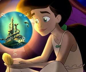 disney, melody, and mermaid image