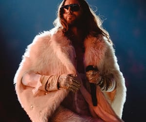 30 seconds to mars, fake fur, and jared leto image