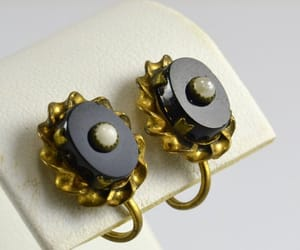 etsy, victorian earrings, and gothic jewelry image