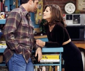 couple, tv show, and friends image