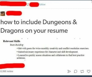 games, gaming, and dungeons and dragons image