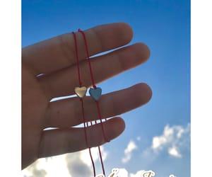 bracelets, couple, and tumblr image