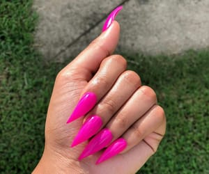 acrylics, claws, and fashion image