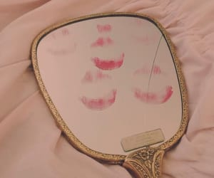 mirror, kiss, and aesthetic image