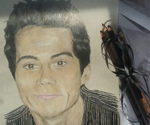 drawing, teen wolf, and dylan obrien image