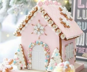 christmas, gingerbread house, and house image