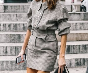 alexa chung, fashion, and plaid image