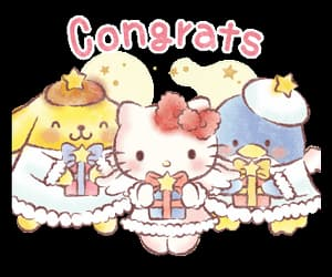 angels, hello kitty, and sanrio image