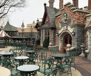 coffee, disneyland, and paris image
