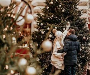 christmas and couple image