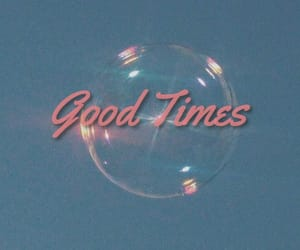 bubbles, vintage, and 90s image