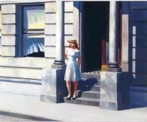 art, edward hopper, and painting image