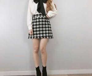asian fashion, stylish, and white image