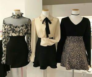 asian fashion, stylish, and beige image