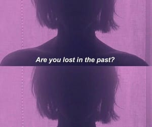 aesthetic, past, and purple image
