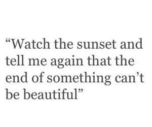 quotes and sunset image