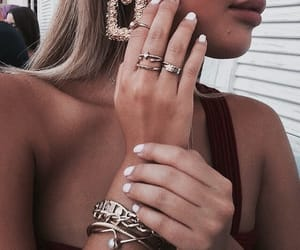 accessories, girl, and bracelets image