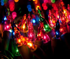 light, christmas, and colors image