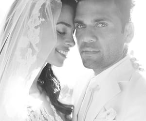 bride, couple, and happy image