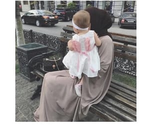 baby, goals, and hijab image
