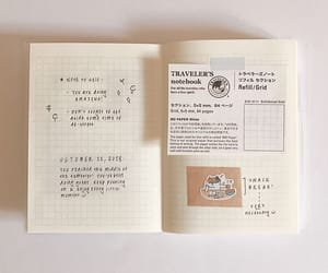 aesthetic, beige, and journal image