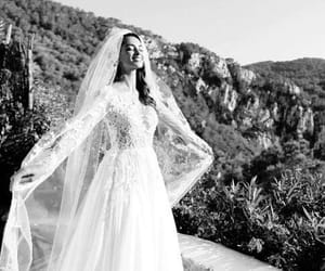 bride, love, and happy image