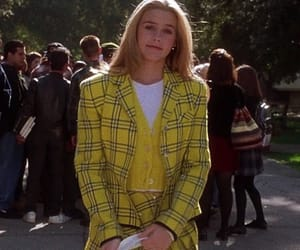 90's, Clueless, and yellow image