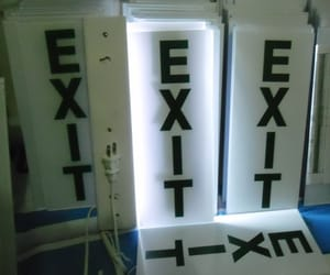 Philippines, safety signs, and exit signs image