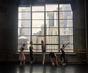ballet, building, and dancing image