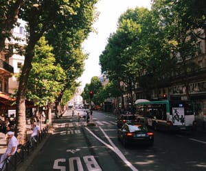 cars, city, and france image
