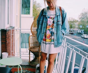 fashion, indie, and jean image