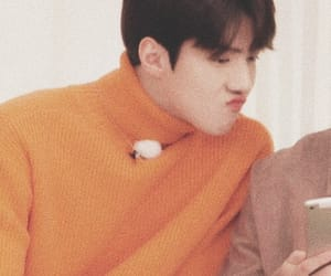 exo, kpop, and orange image