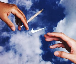 nike and hands image