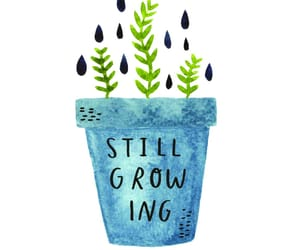 quotes, growing, and plants image