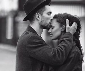 couple, jasmine tookes, and interracial image