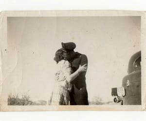 vintage, kiss, and love image