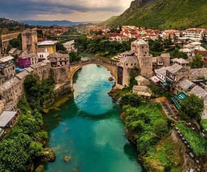 beautiful, europe, and mostar image