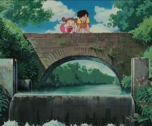 bridge, studio ghibli, and となりのトトロ image