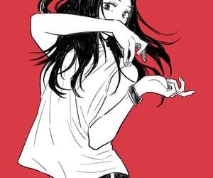 anime, girl, and hero image