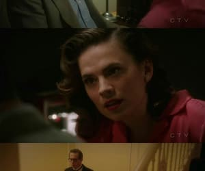jarvis, peggy carter, and agent carter image