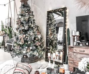 christmas tree, home, and christmas image