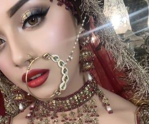eyeshadow, makeup, and nose ring image